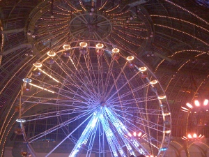 Ferris Wheel in the Grand Palais Paris