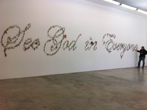 Expo by Farhad Moshiri at the Perrotin Gallery in Paris