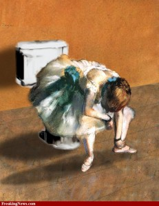 Dancer-on-the-Toilet-by-Degas