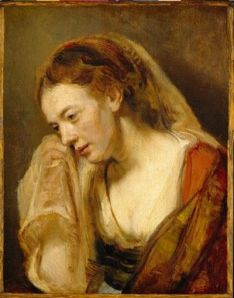 Rembrandt woman weeping